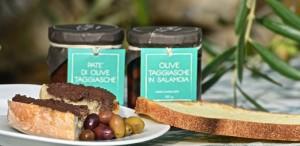 Taggiasca olive spread on bread