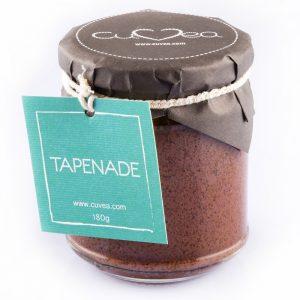Tapenade sauce jar