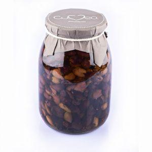 Taggiasca Olives in Oil jar